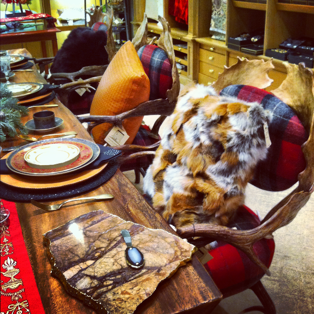 Pretty table at Bergdorfs 2