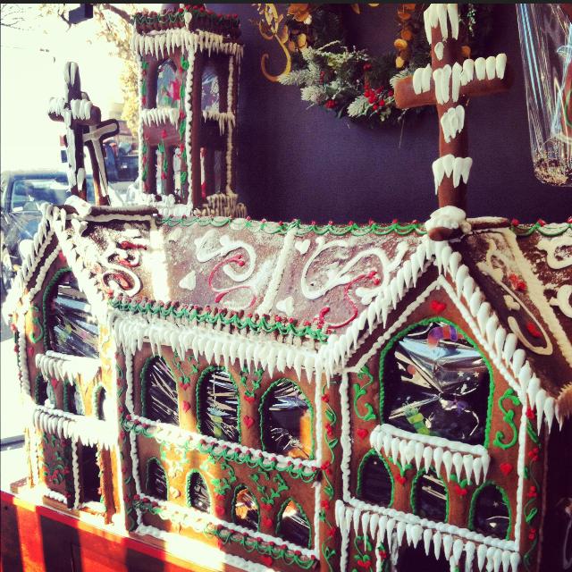 greenwich gingerbread house