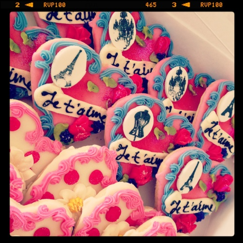 paris cookies
