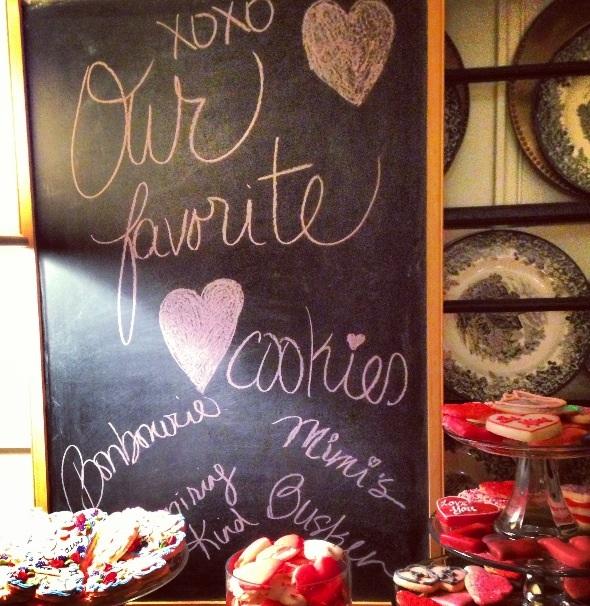 cincy heart cookies