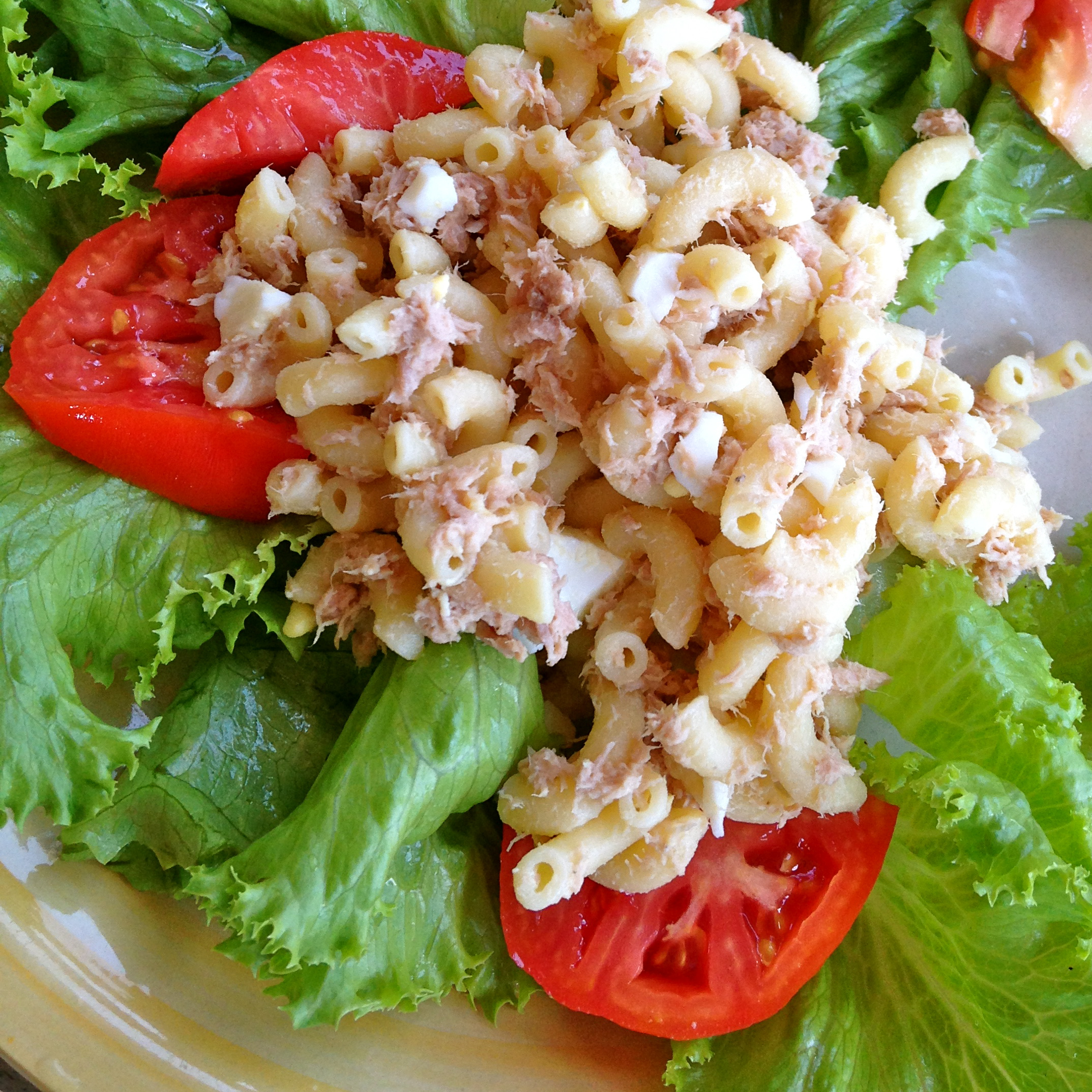 elbow noodle tuna salad