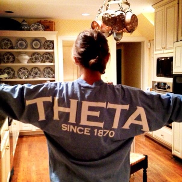 theta t-shirt